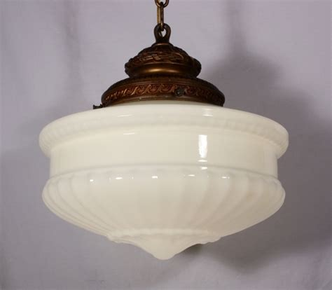 Milk Glass Pendant Light Fixtures Awesome Large Antique Pendant Light Fixture With Original Milk Glass Shade Milk Glass Pendant