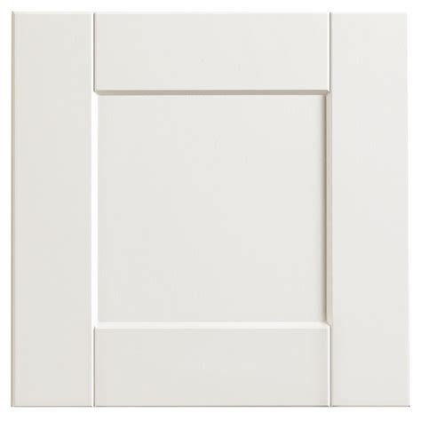 White Kitchen Cabinet Door Hton Bay 12 75x12 75 In Cabinet Door Sle In Shaker Satin White Hbksmpldr Ssw The Home Depot