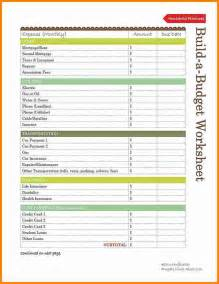 Budget Expenses Template 8 Household Budget Template Printable Budget Template