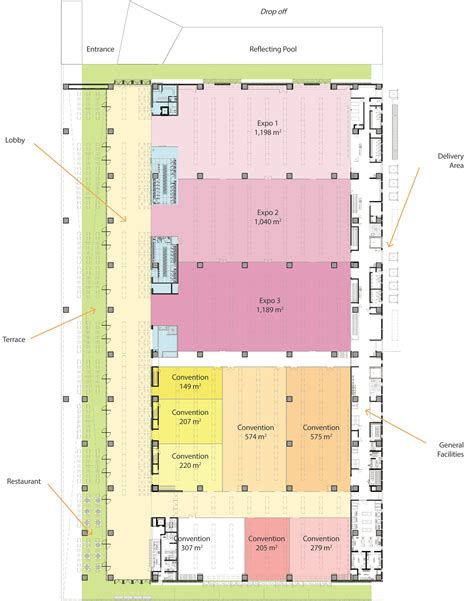convention center floor plan gallery of los cabos international convention center fr