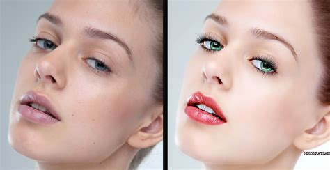 makeup psd templates for photoshop photoshop retouch before and after by nikos23a on deviantart