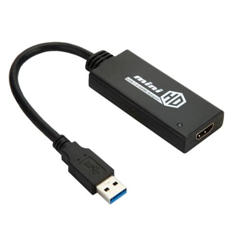 hdmi cable converter for laptop usb 3 0 to hdmi hd 1080p cable adapter converter for