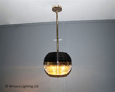 Black And Gold Pendant Light Cagney Black And Gold Pendant Light Nirvana Lighting Nirvana Lighting