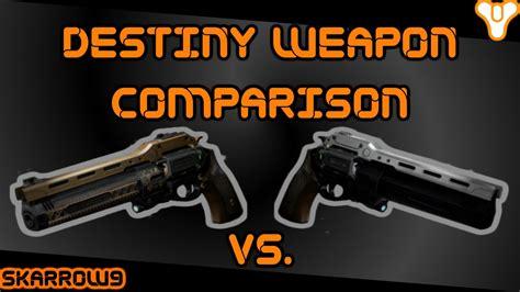 Last Word destiny weapon comparison the last word vs the