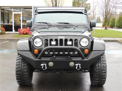 2007 Jeep Wrangler Bumper 2007 Jeep Wrangler Unlimited 4x4 Lifted Steel