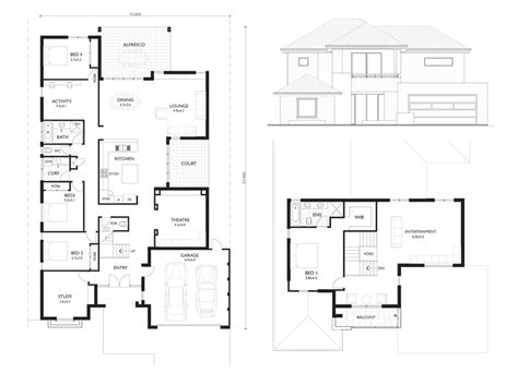 two storey house designs adelaide house plan minimalist decorating two storey plans perth adelaide canada modern double