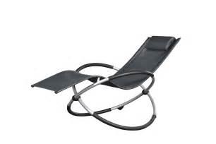chaise longue relax ellipse gris