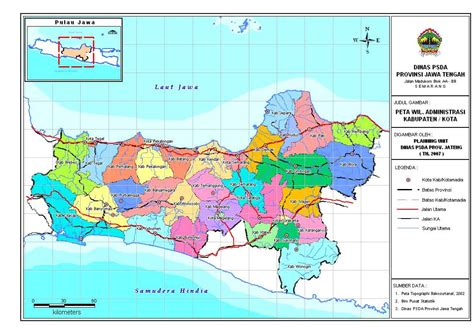 Republik Indonesia Propinsi Djawa Tengah peta provinsi jawa tengah jateng foto 2017