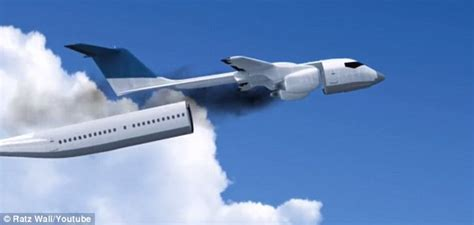 the plane that can detach its entire cabin in the event of