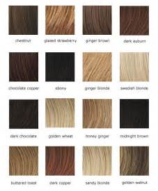 shades of hair color chart fashionable hair colors to choose from