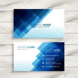 editable business card templates free abstract blue business card template vector free