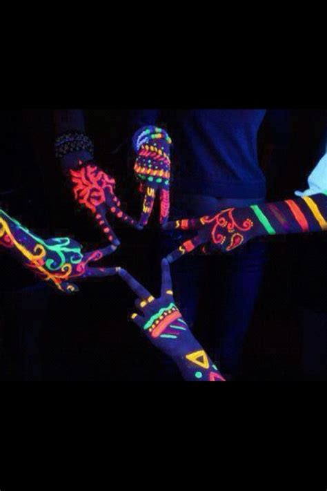 glow in the dark tattoos dallas tx 17 best images about blacklight art photography on
