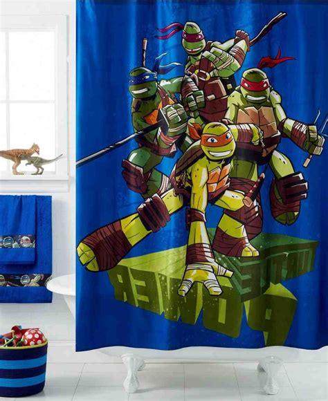teenage mutant ninja turtles bathroom decor ninja turtle shower curtain tropical fish fabric shower