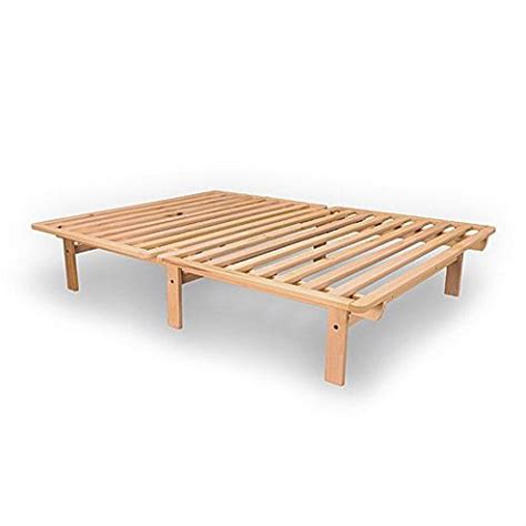 xl wood bed frame xl solid unfinished poplar wood platform bed frame
