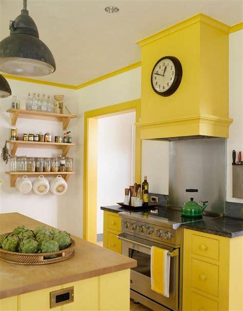 cuisine moderne jaune cuisine jaune pour une maison de