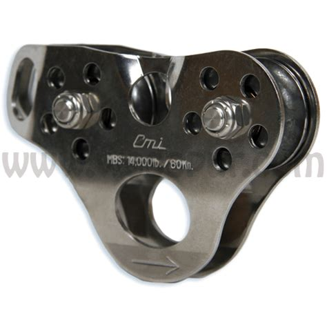 Petzl Tandem Cable Pulley For Travel Along Ropes And Cables zip lining gear pulleys and harnesses