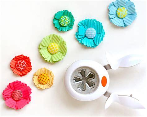 Paper Punch Craft Designs - punch design ideas adding texture fiskars