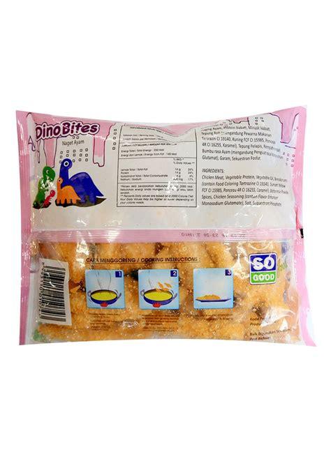 Inaco Dessert Aloevera 200g so chicken nugget dino bites original pck 400g