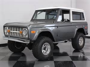 Car Cover For Early Bronco Gunmetal Gray 1970 Ford Bronco For Sale Mcg Marketplace