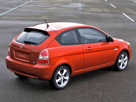 3 Door Car by Hyundai Accent 3 Doors 2006 2007 2008 2009 2010