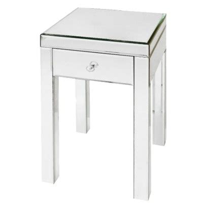 mirrored bedside table 90 for the home