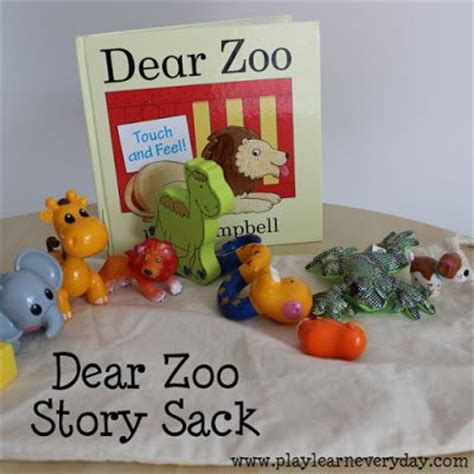 play and go sack 17 best images about story dear zoo on sacks