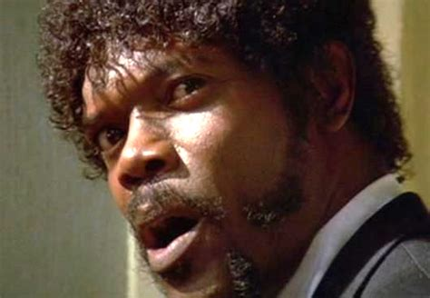 Samuel L Jackson Pulp Fiction Meme - the most badass african american characters in movie