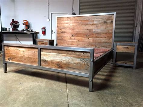 Metal And Wood Bedroom Furniture by Hey I Found This Really Awesome Etsy Listing At Https