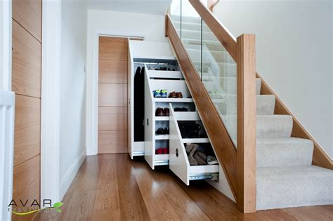 stairs with storage ƹӝʒ under stairs storage ideas gallery 24 north london uk avar furniture