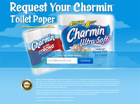 Who Makes Charmin Toilet Paper - get free charmin toilet paper usa
