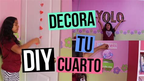 como decorar tu cuarto youtube diy decora tu cuarto johanna de la cruz youtube