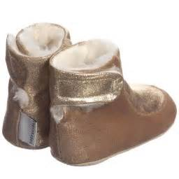 Prewalker Boot Mix B petit nord gold leather wool lined pre walker boots