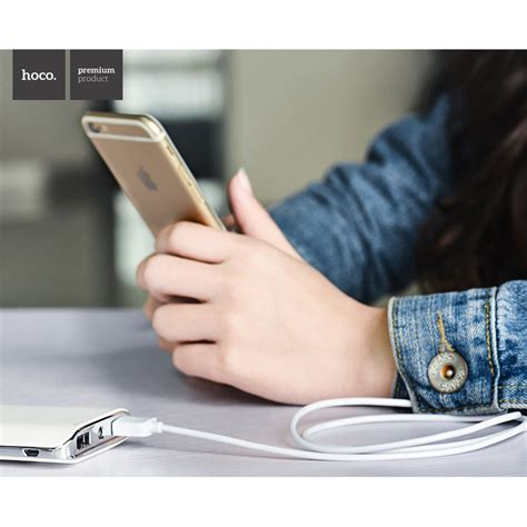 Hoco X1 Lightning Charging Cable 2m For Iphone Diskon hoco x1 lightning charging cable 2m for iphone