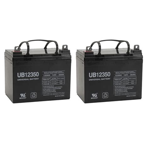 liberty 312 power chair battery upg 2 pack 12v 35ah revolution mobility liberty 312