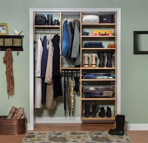 Entry Closet Organization Ideas by Special Spaces Organization Photo Gallery Storage Systems