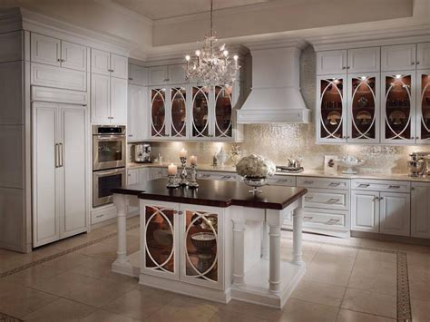 Design Glass For Kitchen Cabinets White Country Kitchens Decoration Ideas Diy Home Decor