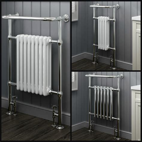 traditional bathroom radiators uk traditional bathroom heated towel rail column victorian