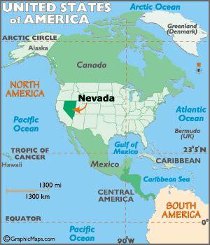 geography of nevada world atlas