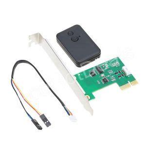 Turn Switch Espass desktop 2 4g wireless switch turn on computer remote pci e ebay