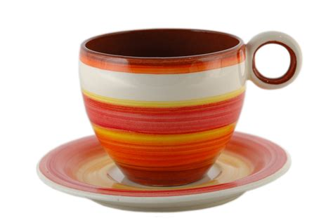 Handmade Tea Cups - handmade pottery espresso tea cups