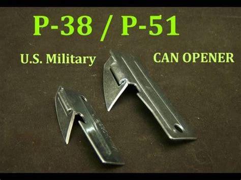 genuine p 38, p 51 can opener