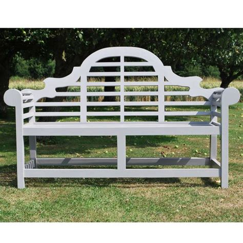 luytens bench grey painted teak lutyens wooden garden bench projects