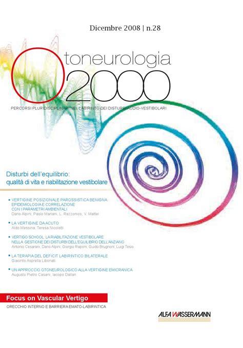 orecchio interno equilibrio oto n 28 by otoneurologia 2000 issuu