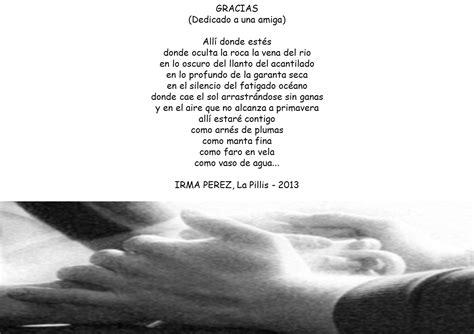 gracias por todo a mi colegio poema de mi juventud irma perez poema gracias