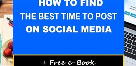 How To Find On Social Media How To Find The Best Times To Post On Social Media Martine Alphonse