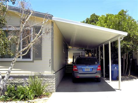 carports and awnings carports attached to mobile home photos pixelmari com