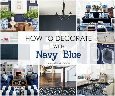 decorate with navy blue a guide paint colors
