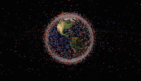 space junk map see all the satellites and space junk circling earth in