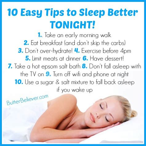 sleep better tips 10 easy tips for getting better sleep tonight that you