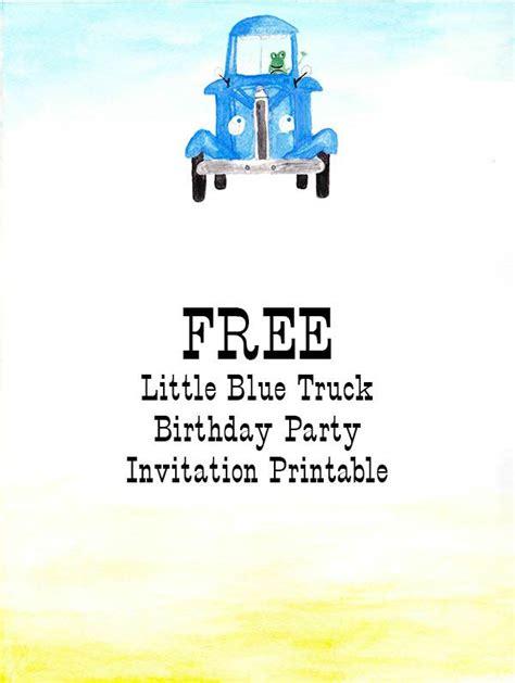 little blue truck 0857637347 42 best little blue truck birthday party images on little blue trucks birthday